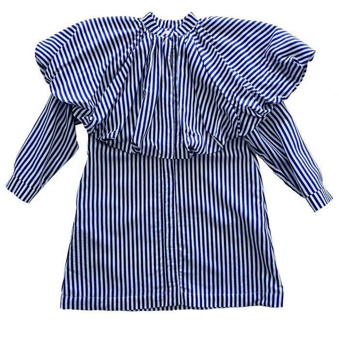 Winner Dress Stripes Blue