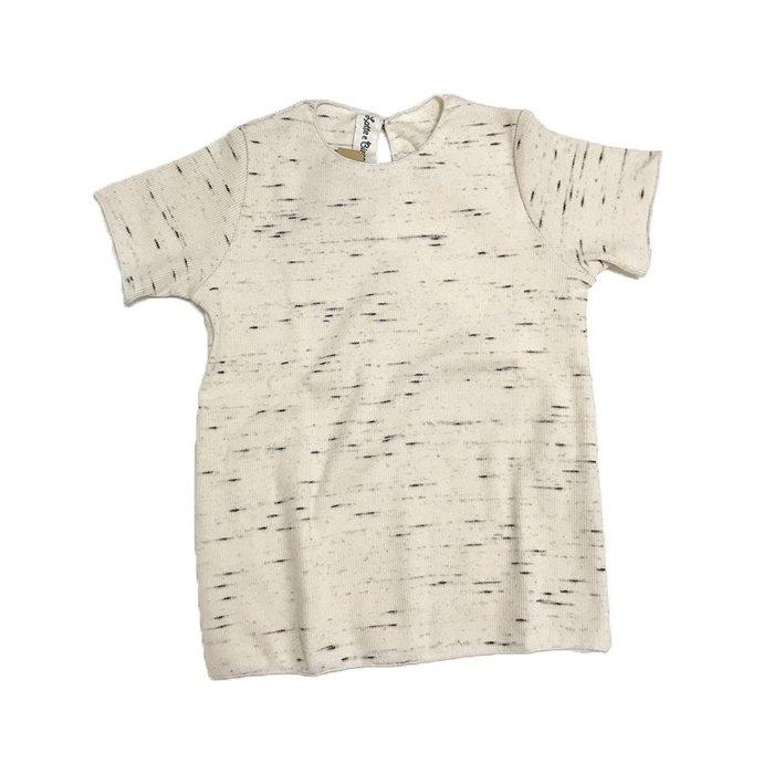 White Rib Tshirt