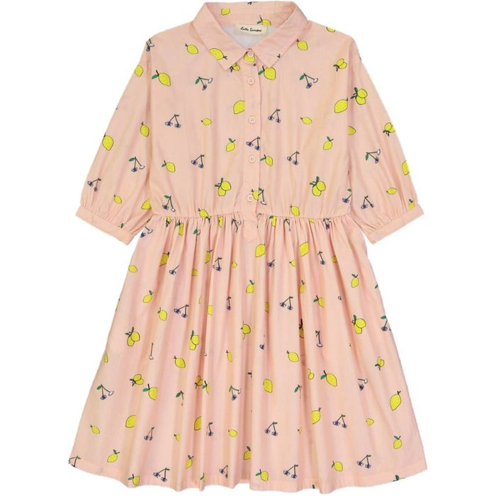 Nephtys Dress Lemon Rose