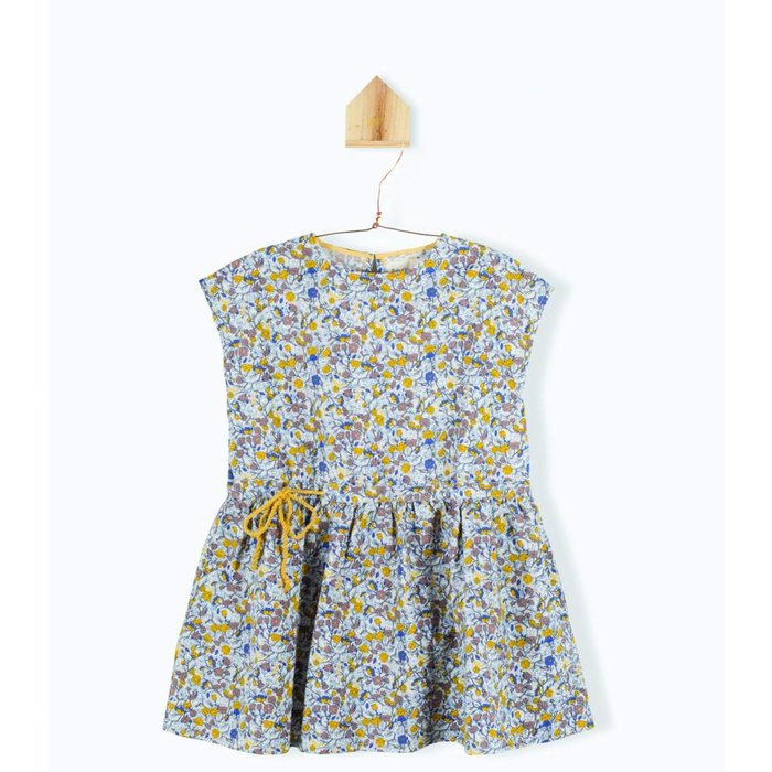 Nelcie Fleur ecru dress