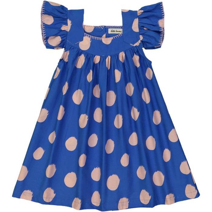 Katell Dress Comets Blue