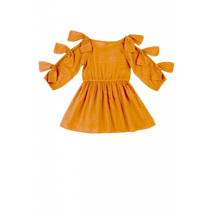 Francesca Dress Copper Tan