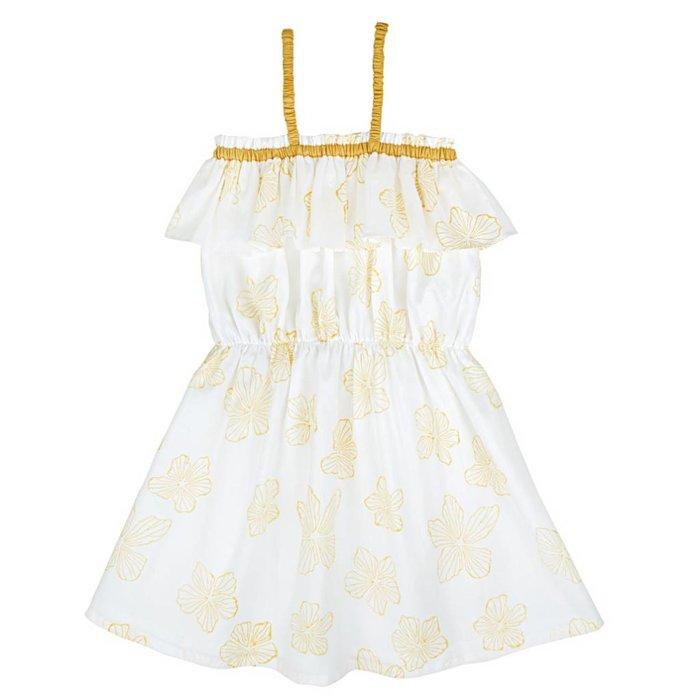 Ariel Dress Yellow Flowers
