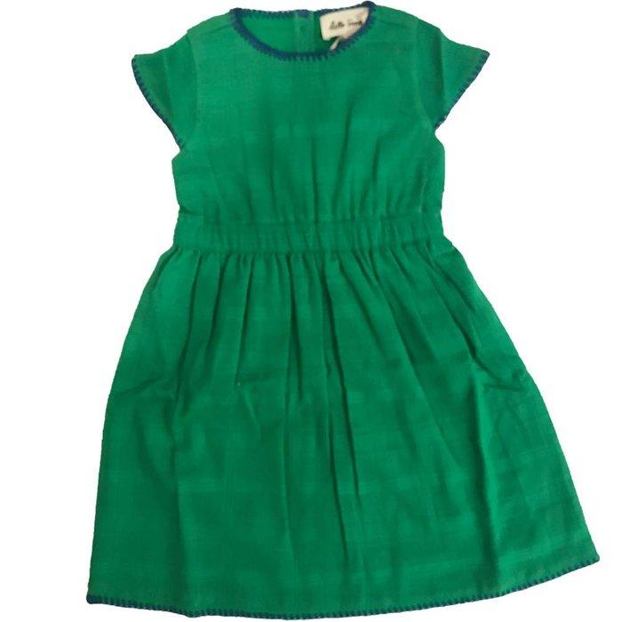 Orphee Dress Green Crepe