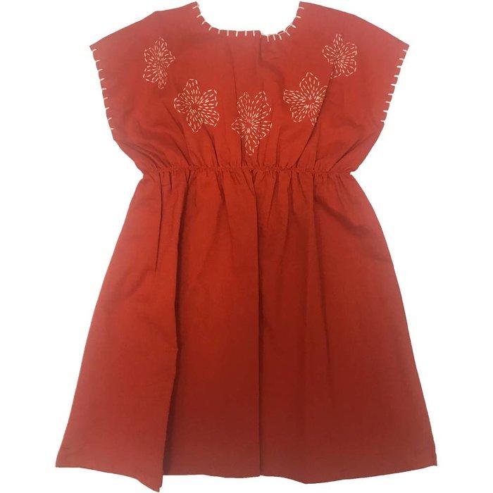 Flavia Dress Red
