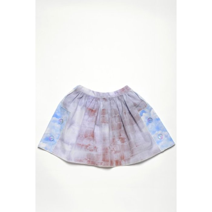 Champs Skirt Long Toile Terre