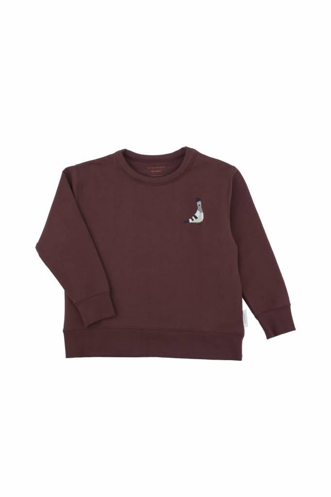 Pigeon Graphic Sweatshirt