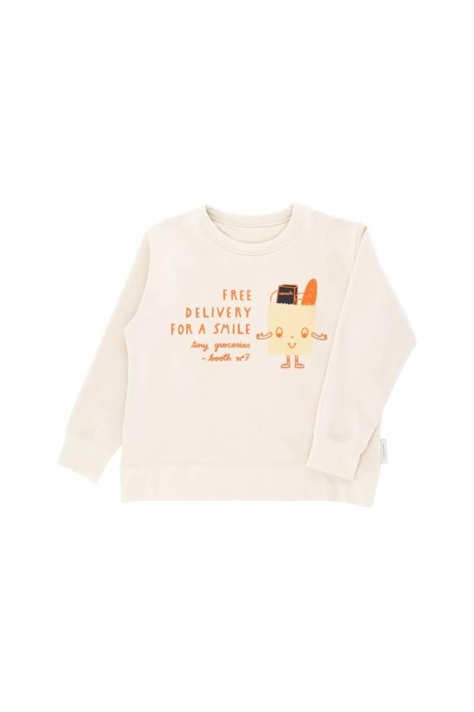 Free Delivery Graphic Sweatshirt