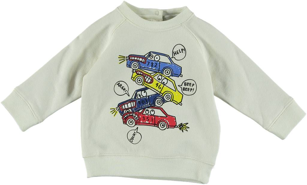 Billy Sweatshirt with Car Graphic