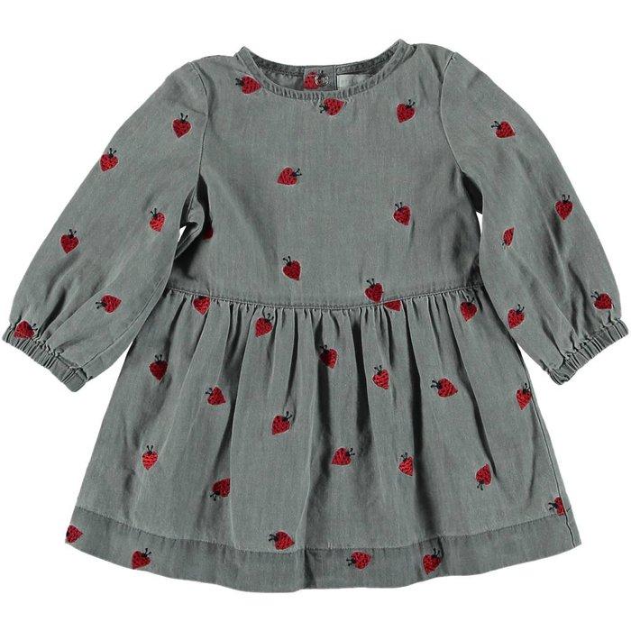 Lady Bug Denim Dress