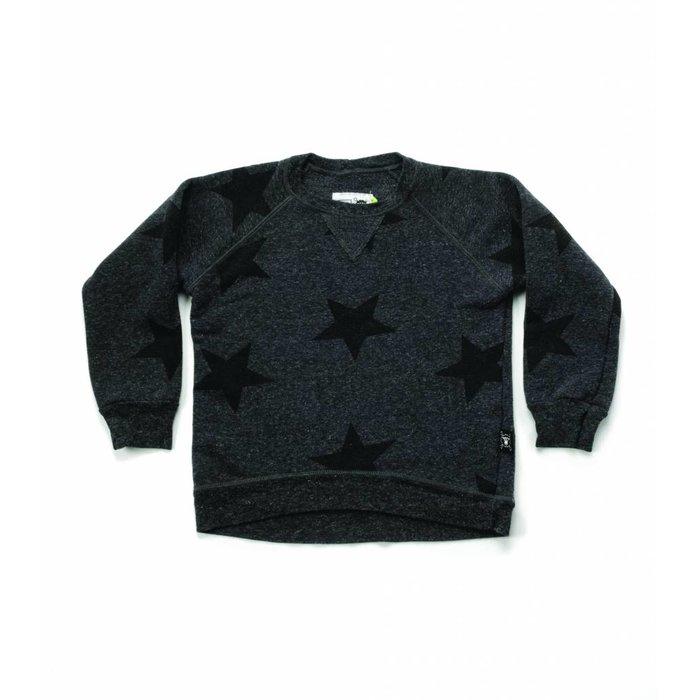Star Sweatshirt Charcoal