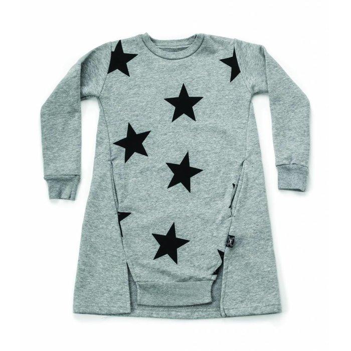 Star A Dress Heather Gray