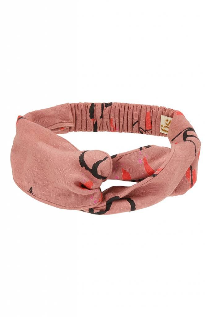 Wrap Headband Aop Sakura