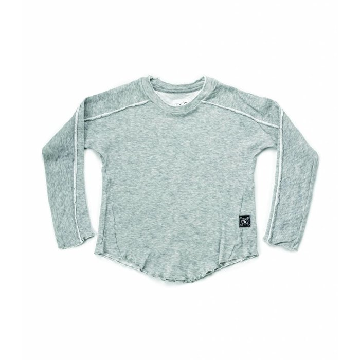 Hemmed Shirt Grey