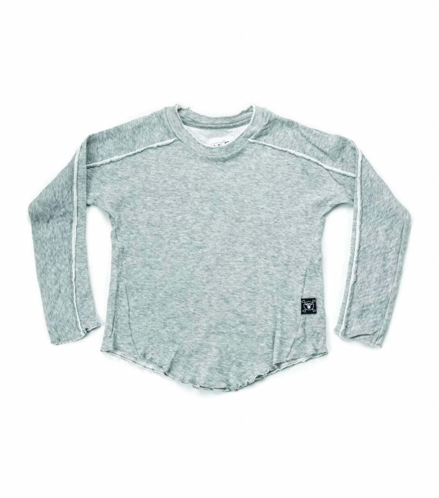 Hemmed Shirt Grey