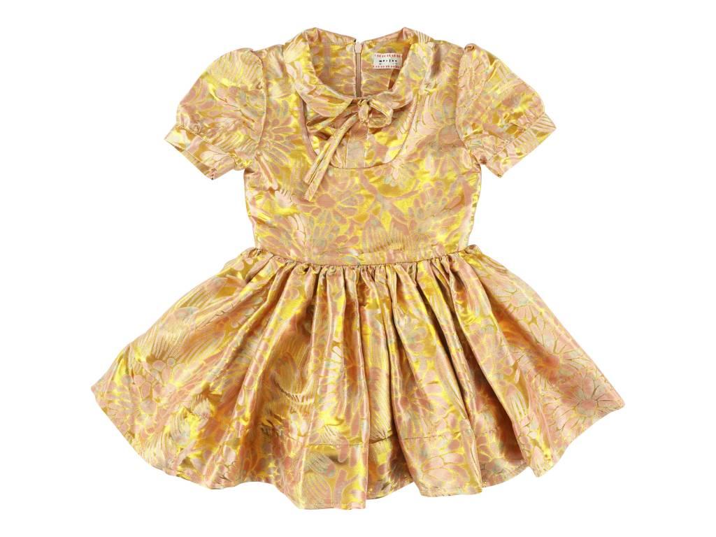 Isla Shine Dress Gold