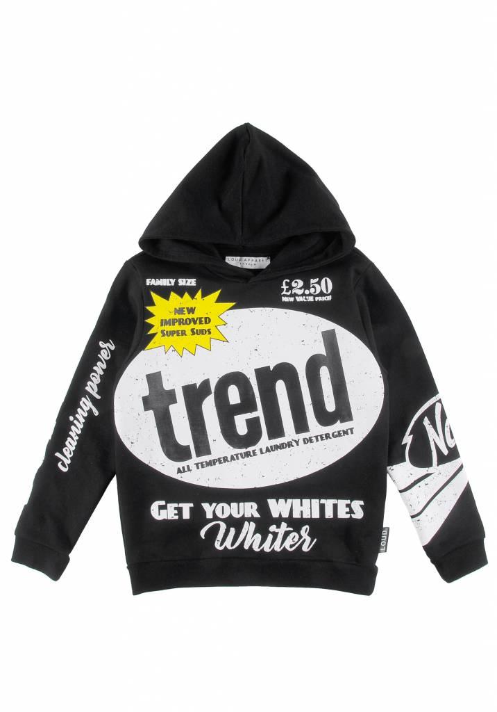 Mild Sweater Hoodie Black