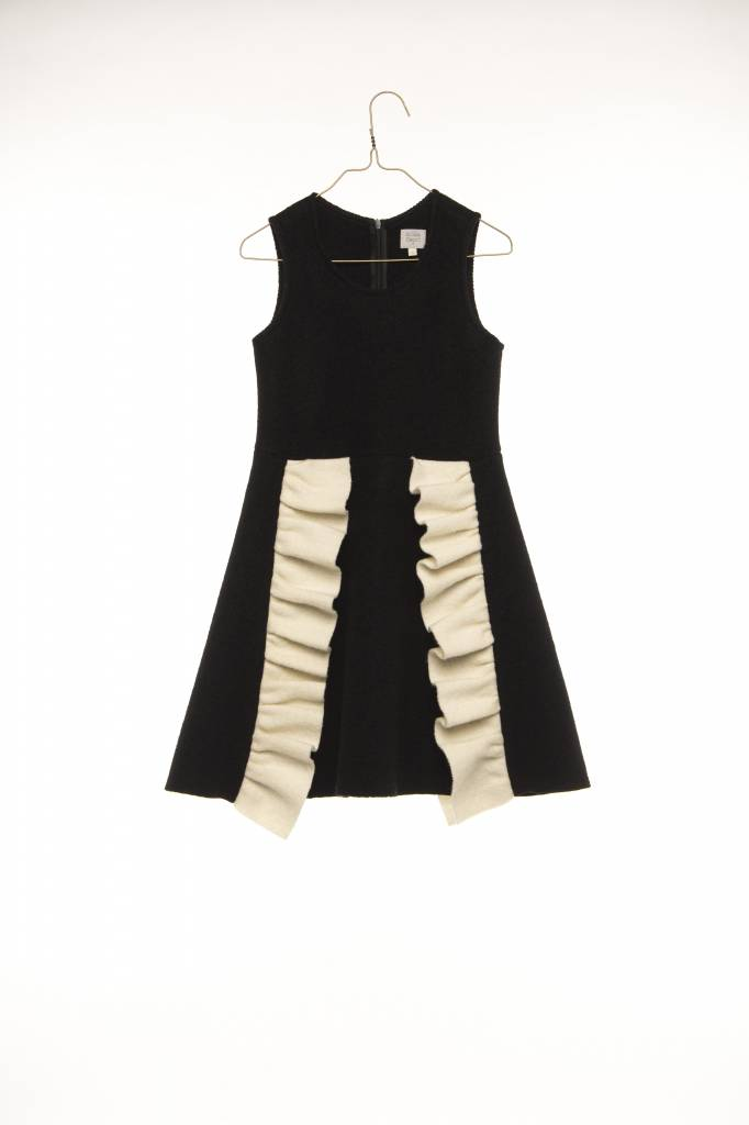 Dress Lourdes Black/white