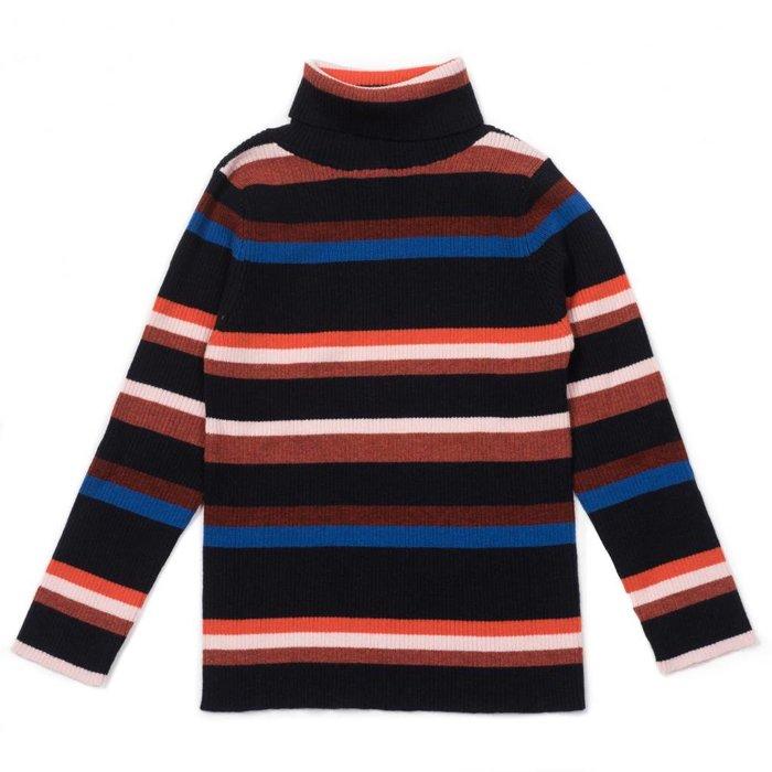 Striped Sweater Marine
