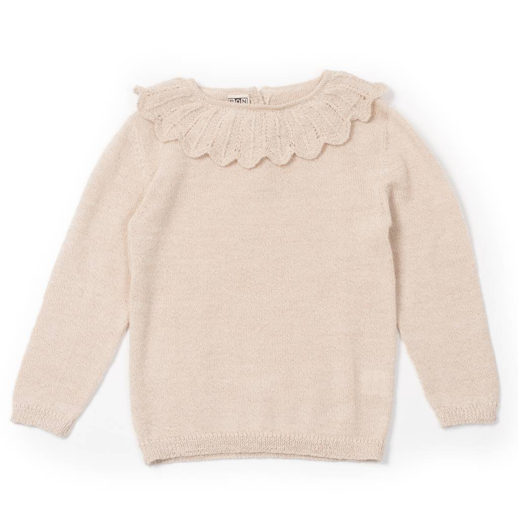 Sweater Arlequin Beige Chine