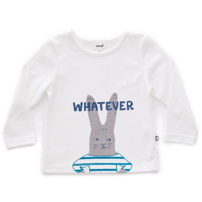 Tee Shirt Bunny/White