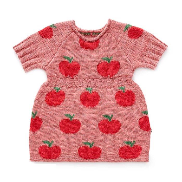 Apple Dress Rose/Red