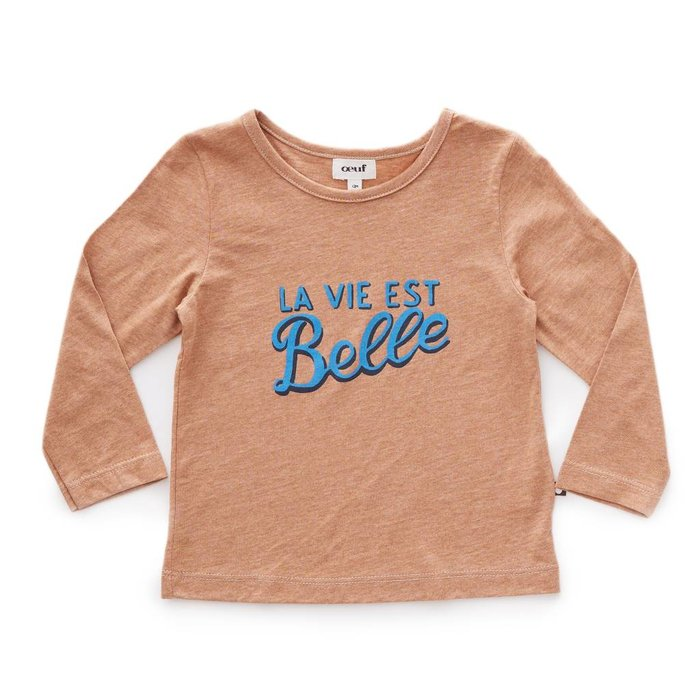 Tee Shirt Belle/Brown