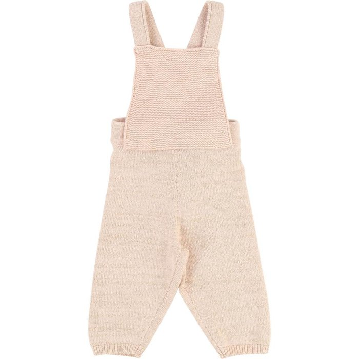 Baby Knitted Jumpsuit Poudre