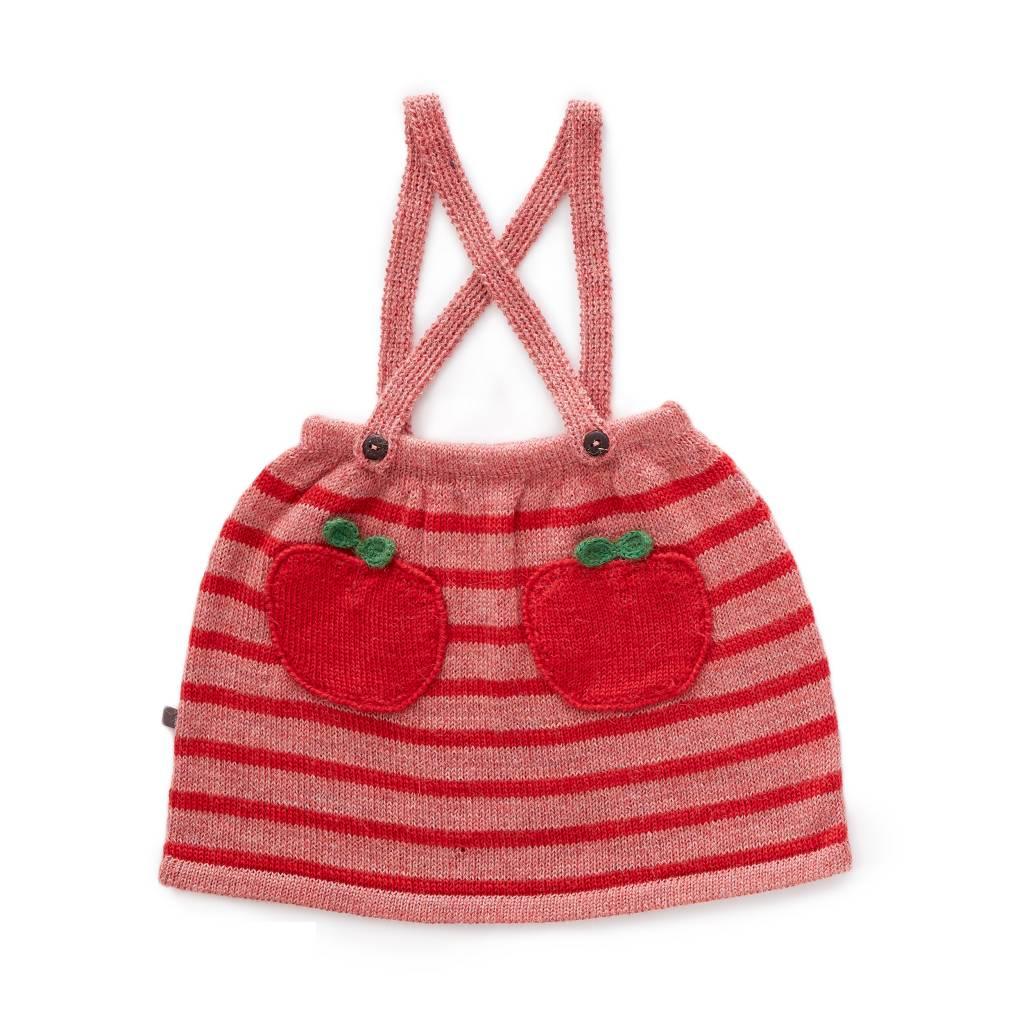 Suspender Skirt Rose/Red