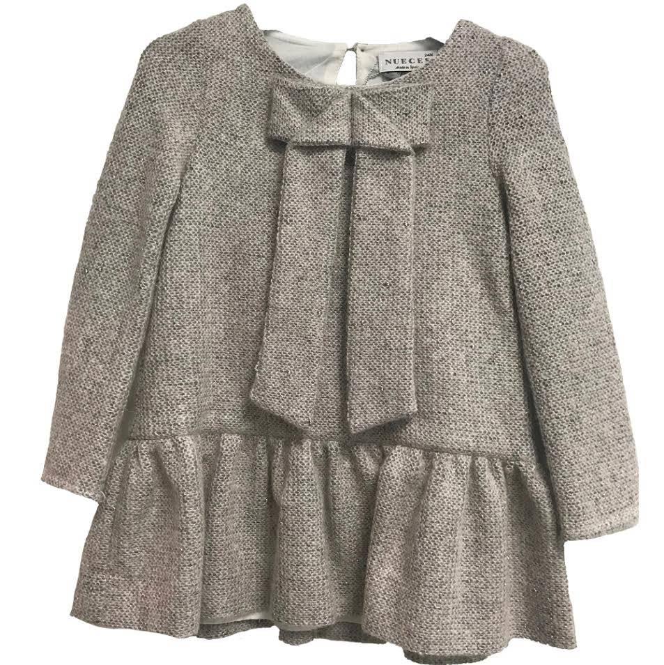 Naiza Dress Light Grey