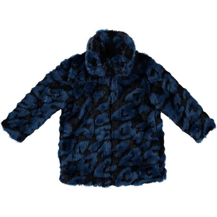 Gaia Heart Faux Fur Jacket