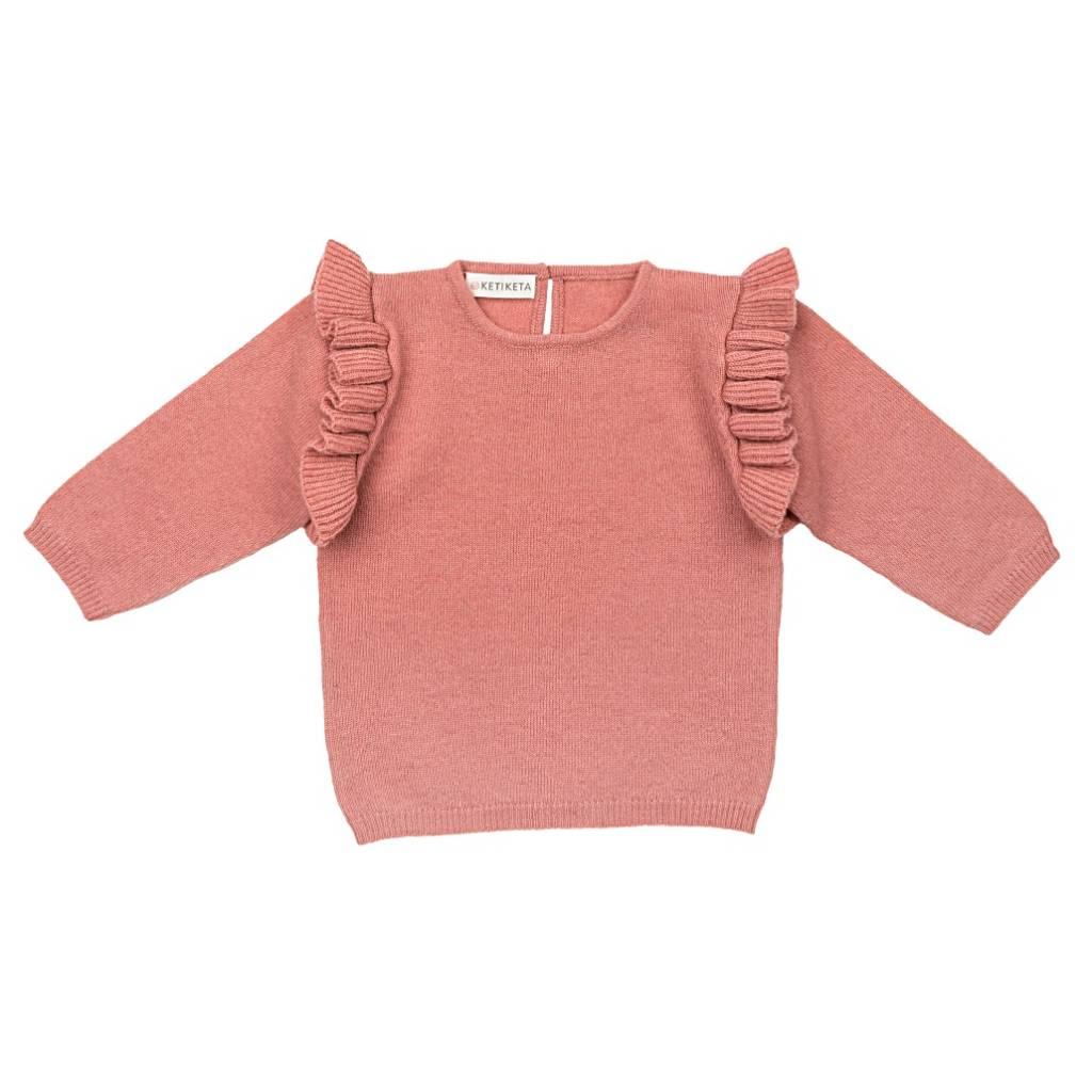 Zoe Sweater Rose