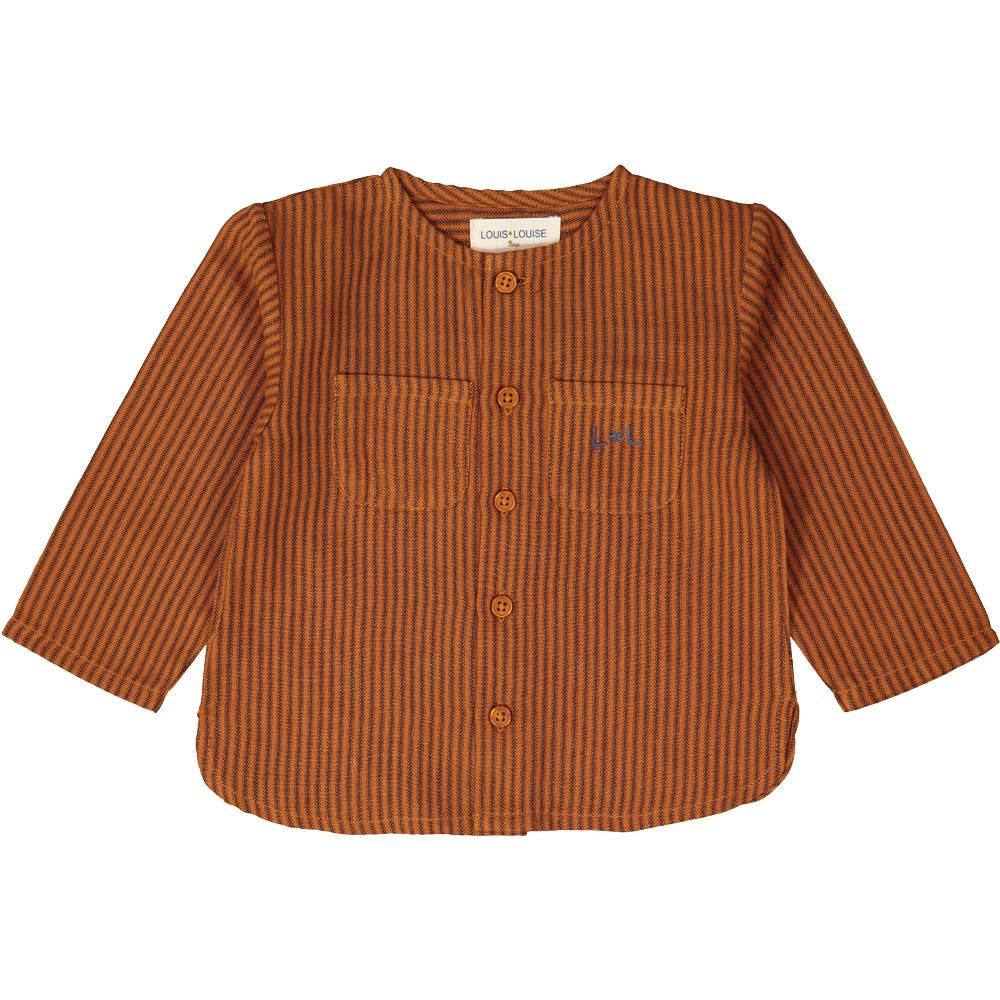 Baptise Shirt Cognac