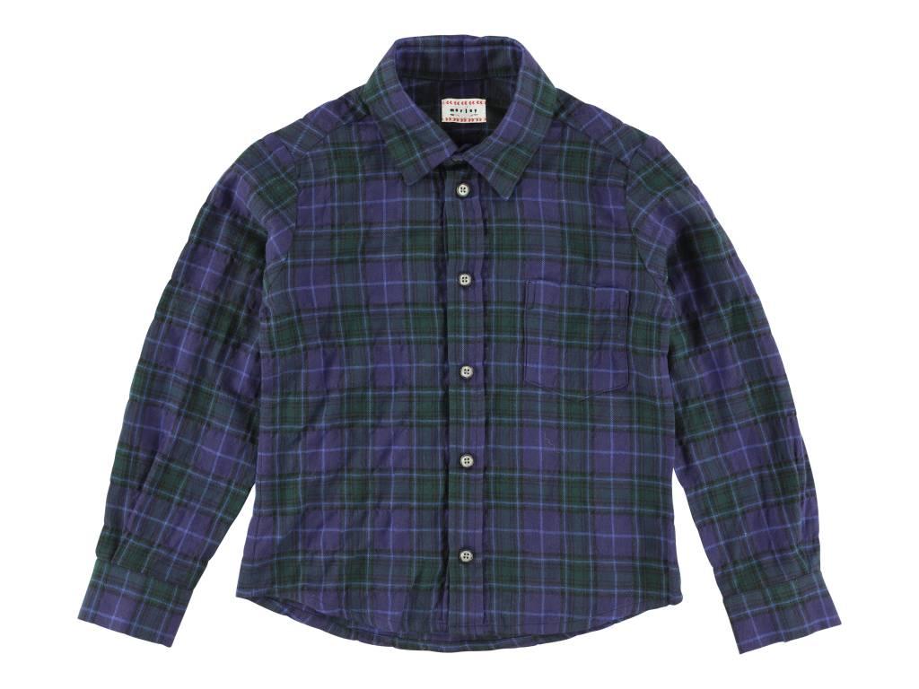 Benjamin Yama Shirts Bleu