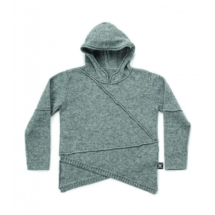 Heather Grey Hooded Sweater