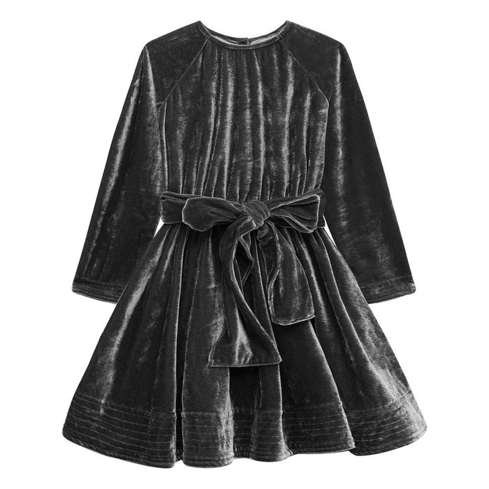Adele Dress Velvet Grey