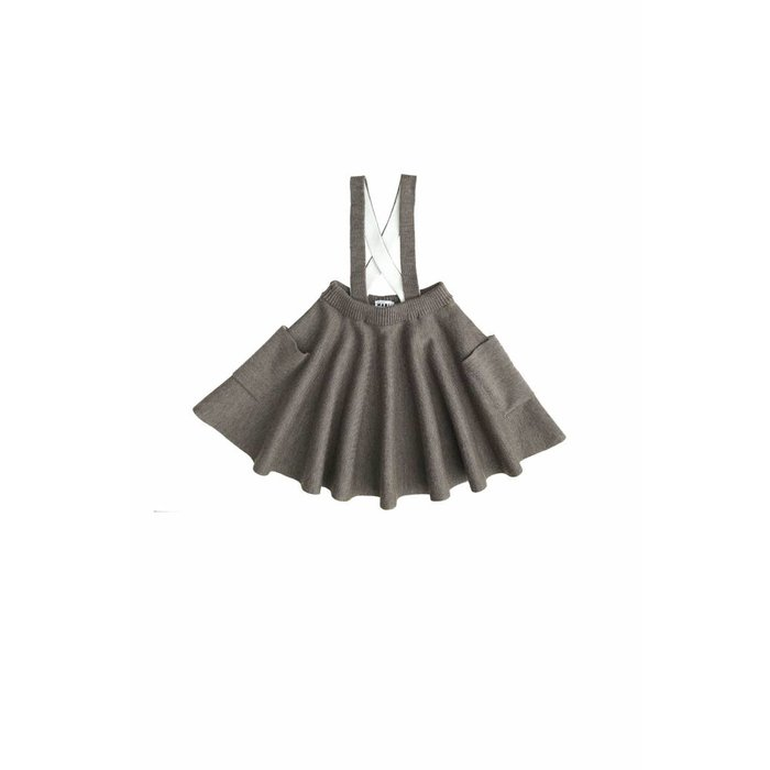 Troelli Skirt Walnut/Ivory