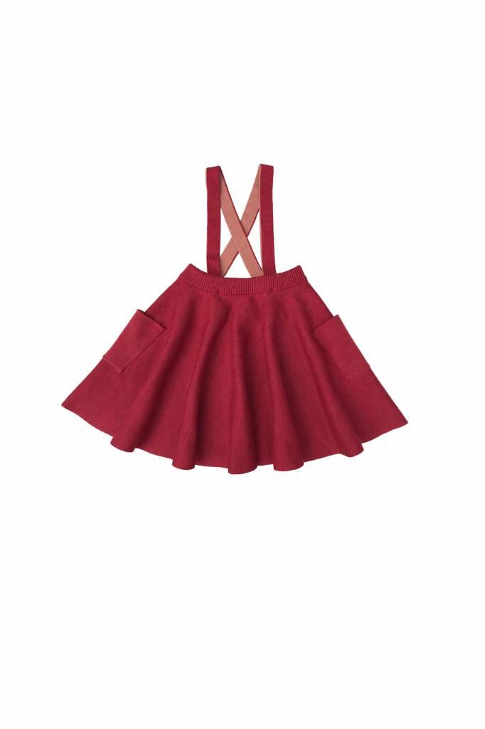 Troelli Skirt Madder/rosewood