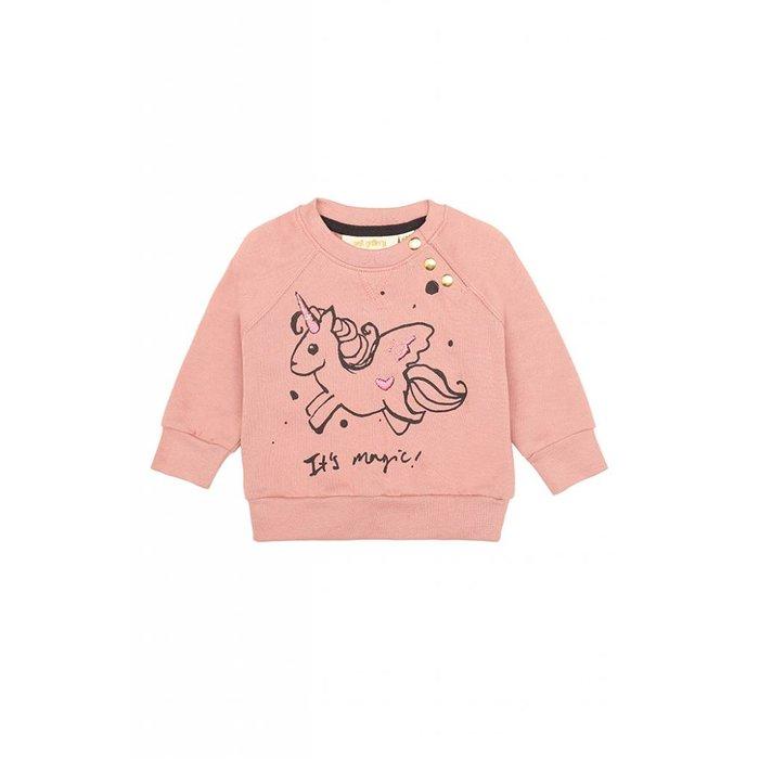 Alexi Girl Sweatshirt Rose Dawn