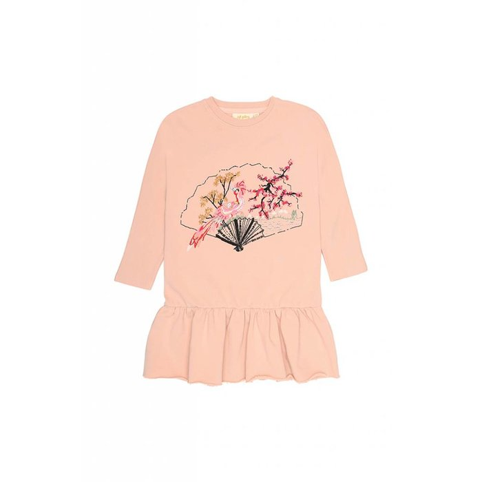 Autum Dress Rose cloud
