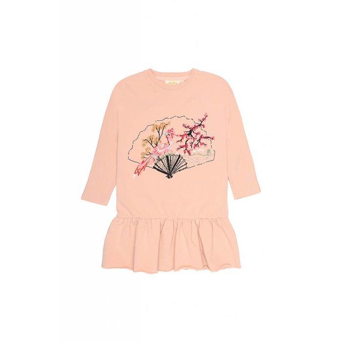 Autum Dress Rose cloud