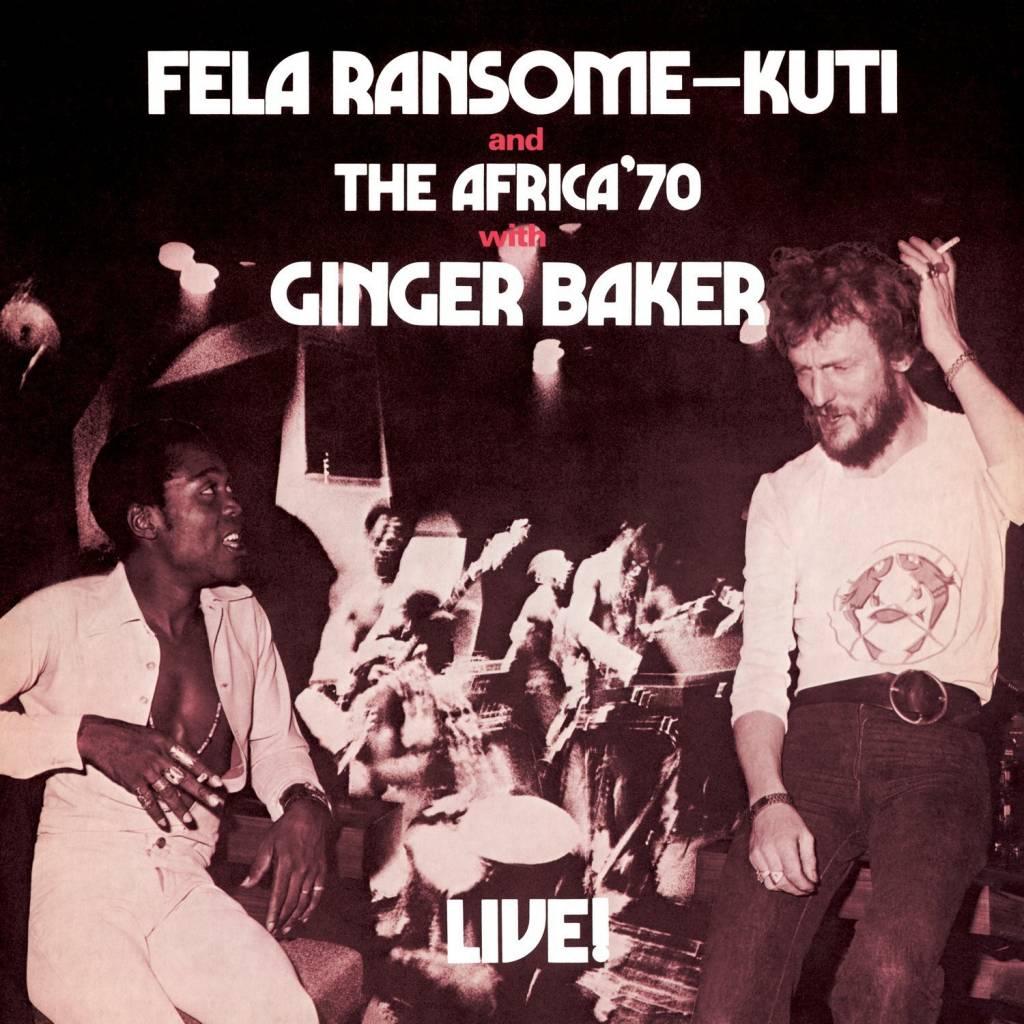 Fela Kuti - Live: With Ginger Baker