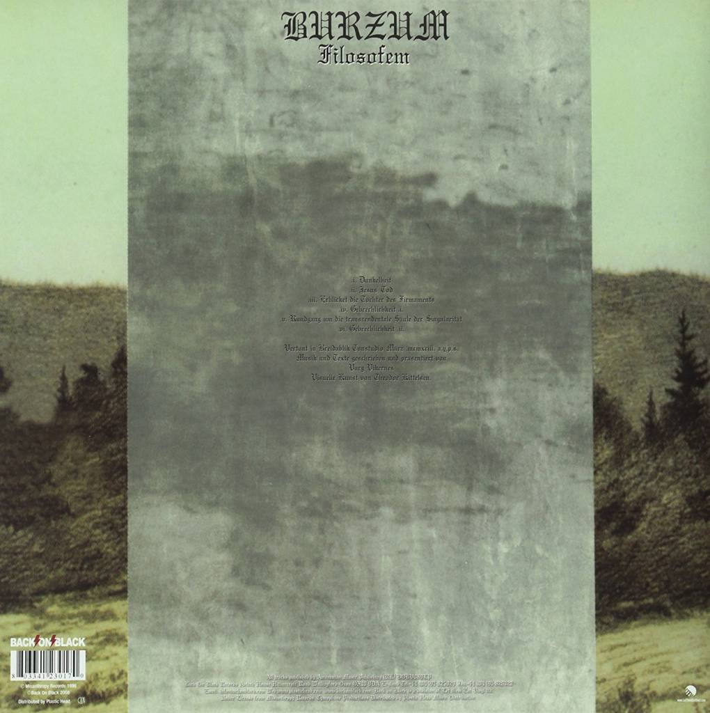 Burzum - Filosofem