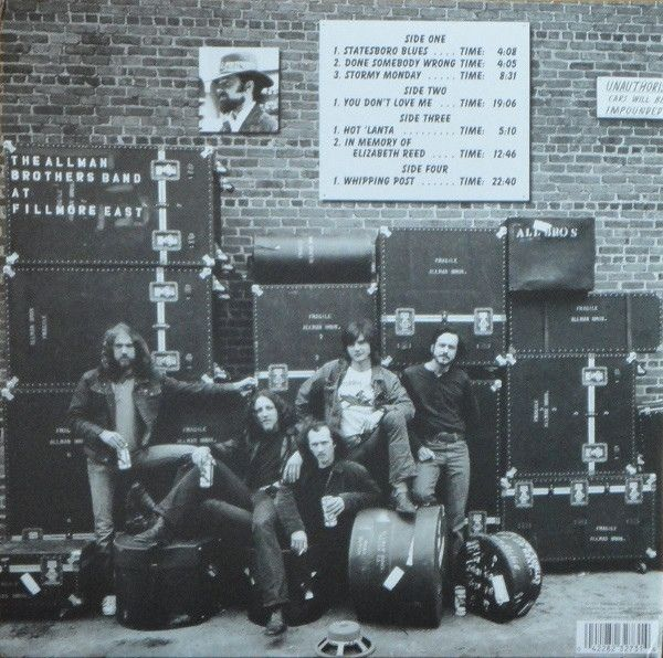 Allman Brothers Band - 1971: At Fillmore East