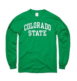 MOUNTAIN STATES Irish Green Arch LS Tee