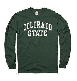 MOUNTAIN STATES Forest Green Arch LS Tee