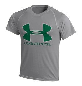UNDER ARMOUR YTH UA BIG LOGO TECH TEE
