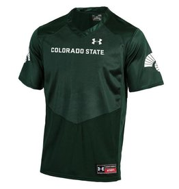 UNDER ARMOUR CSU REPLICA JERSEY- GREEN