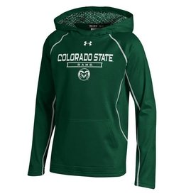UNDER ARMOUR YTH UA COLO STATE GRID HOODY