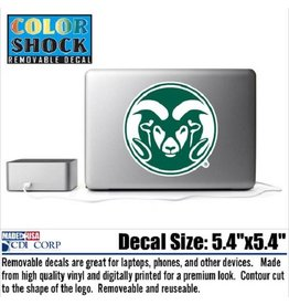 REMOVABLE RAM HEAD DECAL - 5 1/2""